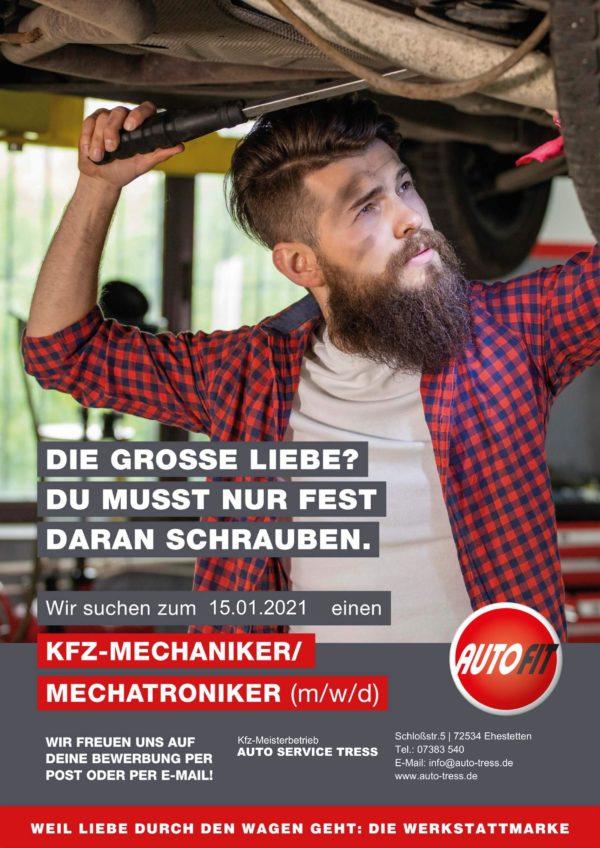 KFZ-Mechatroniker KFZ-Mechaniker